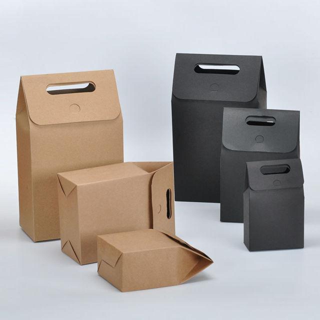 Mẫu in túi giấy chuyên nghiệp để đựng thức ăn nhanh