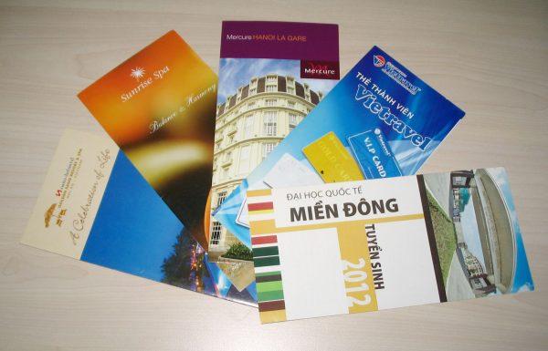 In ấn brochure giá rẻ và những lý do nên in ấn brochure