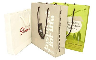 Túi giấy đựng quần áo cho shop thời trang