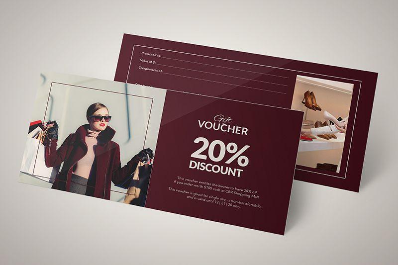 In ấn voucher cho shop quần áo